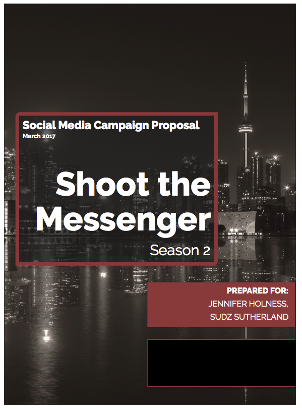 Social Media Campaign Proposal Jonathan Ho